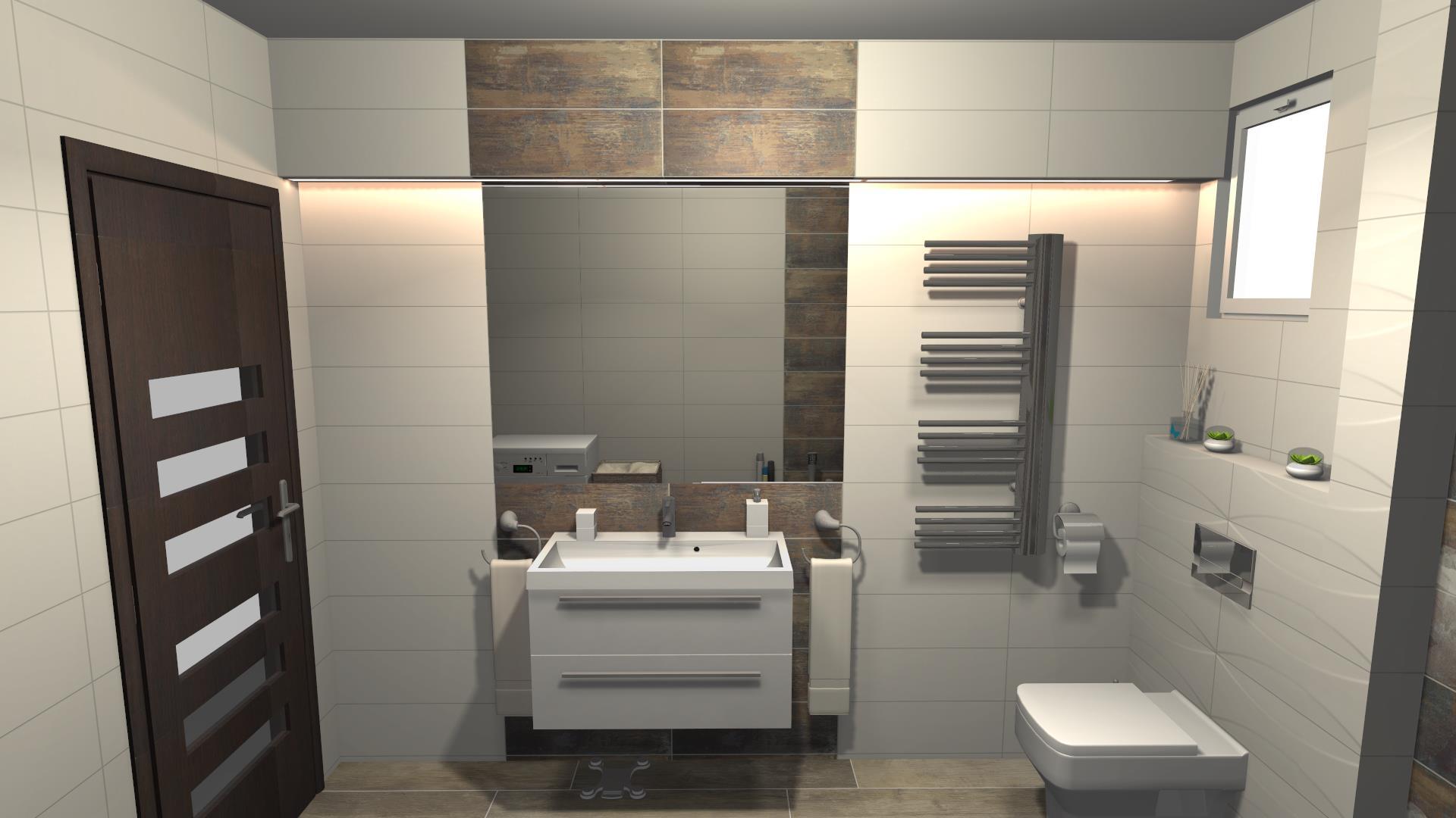 Projektowanie łazienek Phu Kolor żagań Materiały